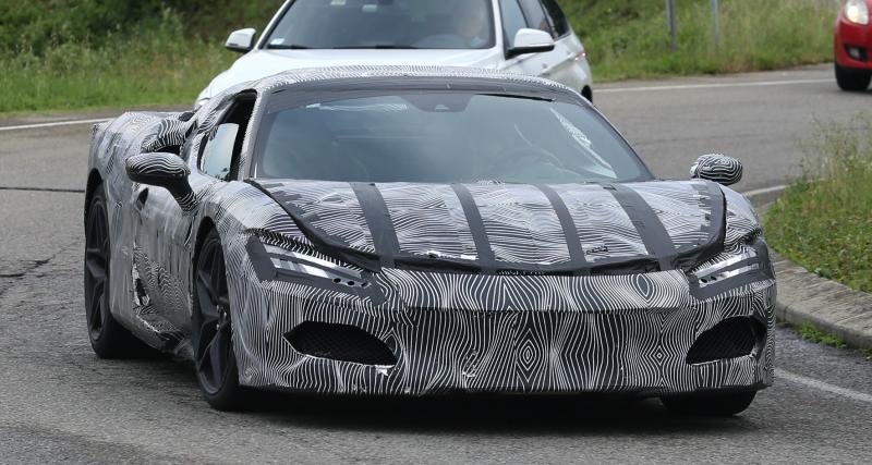 Ferrari Progetto F171 (2022) : l'héritière de la Dino est sur les rails