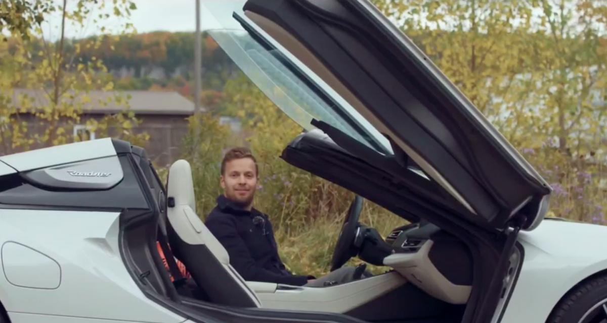 VIDEO - Comment monter dans une BMW i8 sans se faire mal