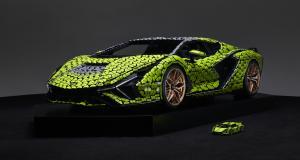 Lamborghini Sián FKP 37 : Lego dévoile une réplique de l'hypercar grandeur nature