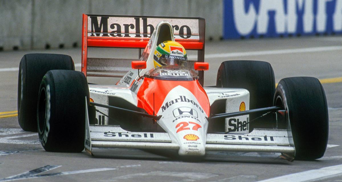Il y a 31 ans… la 23e victoire d'Ayrton Senna en F1