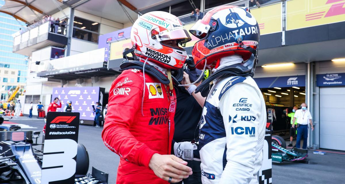 Grand Prix d'Azerbaîdjan de F1 : Gasly a kiffé sa bataille avec Leclerc