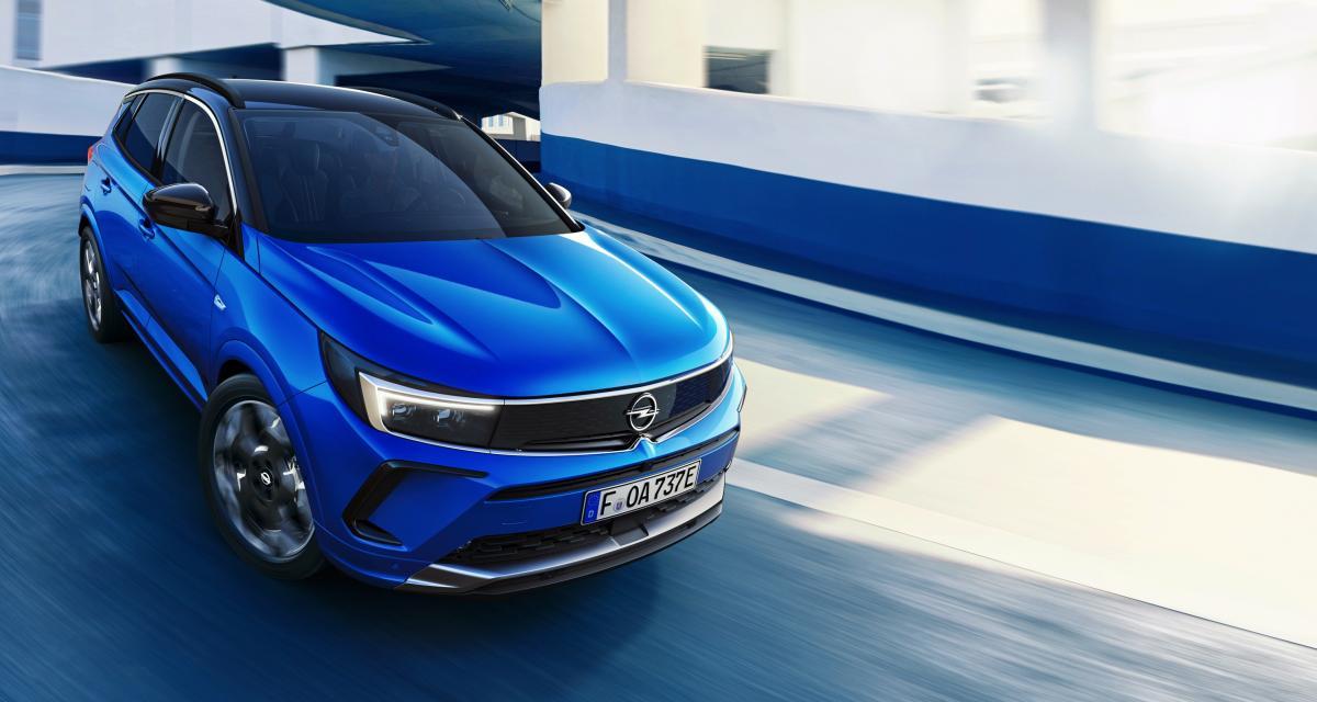 Opel Grandland (2021) : Vizor et Pure Panel au programme pour le SUV restylé