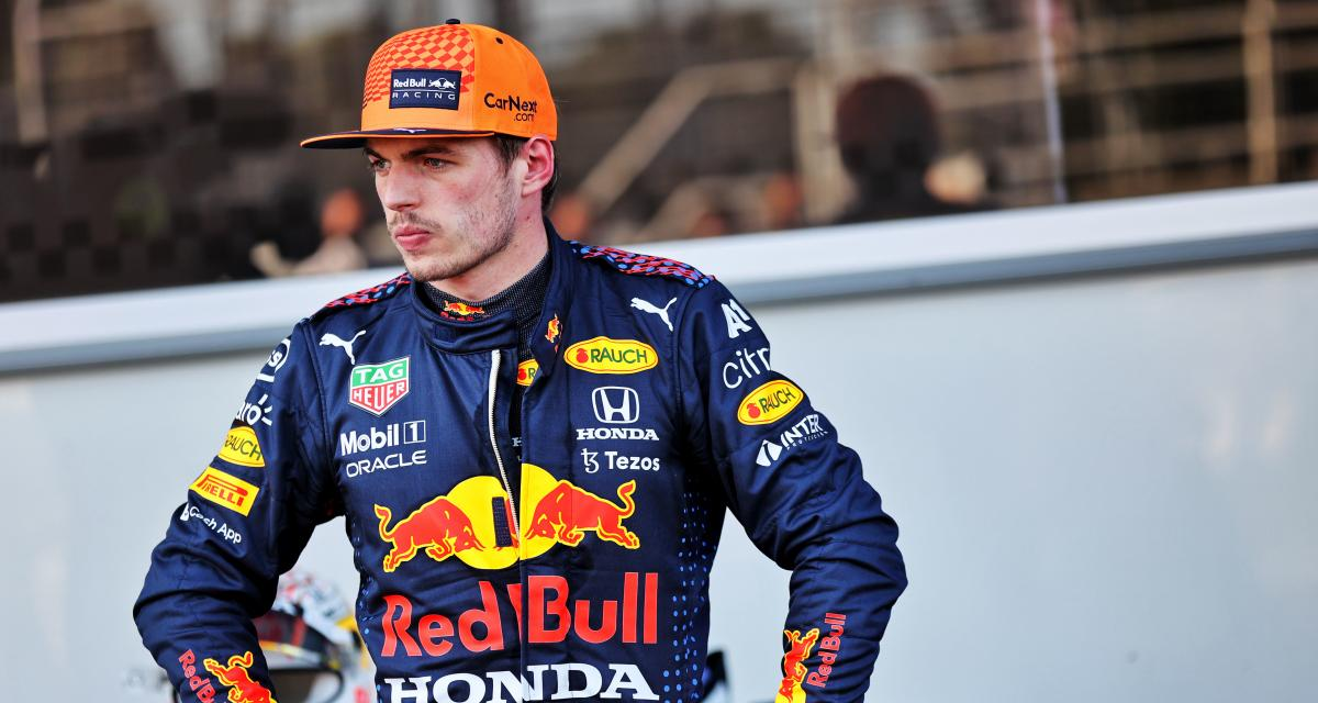 F1 - Max verstappen : le pilote Red Bull possède d'excellents réflexes, la preuve en image