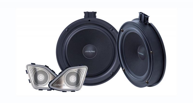 Alpine-Electronics commercialise des haut-parleurs « plug and play » pour les VW T6.1
