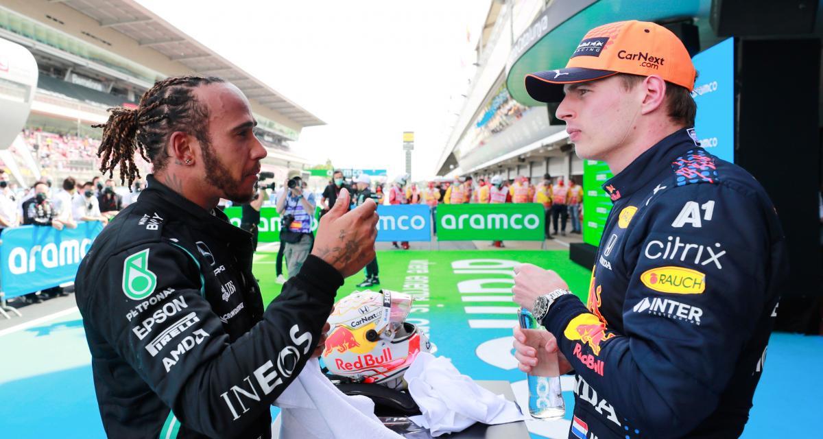 """F1 : Verstappen au volant d'une Mercedes : """"je serais deux dixièmes au tour plus vite que"""" Lewis Hamilton"""