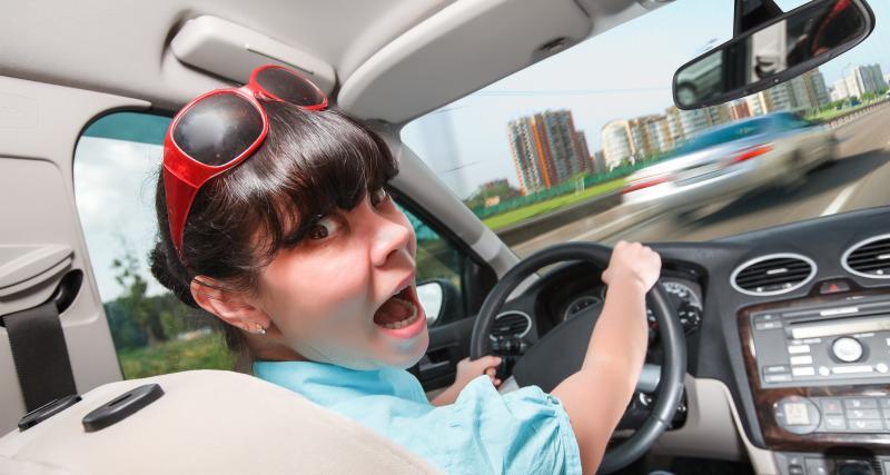 Peur d'être en retard, embouteillages… Voici les différentes causes de stress au volant