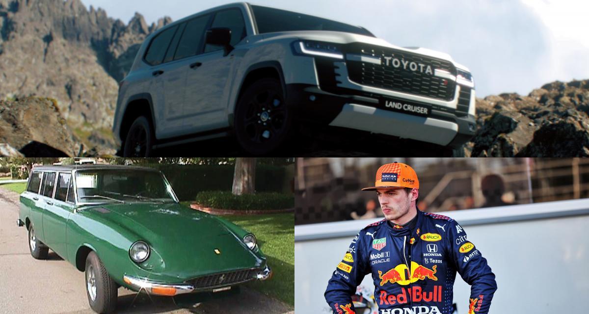 Toyota Land Cruiser, Jerrari, les réflexes de Max Verstappen : l'actu auto du 10 juin