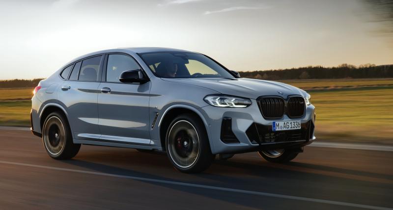 BMW X4 restylé (2021) : lifting discret mais efficace pour le SUV coupé bavarois