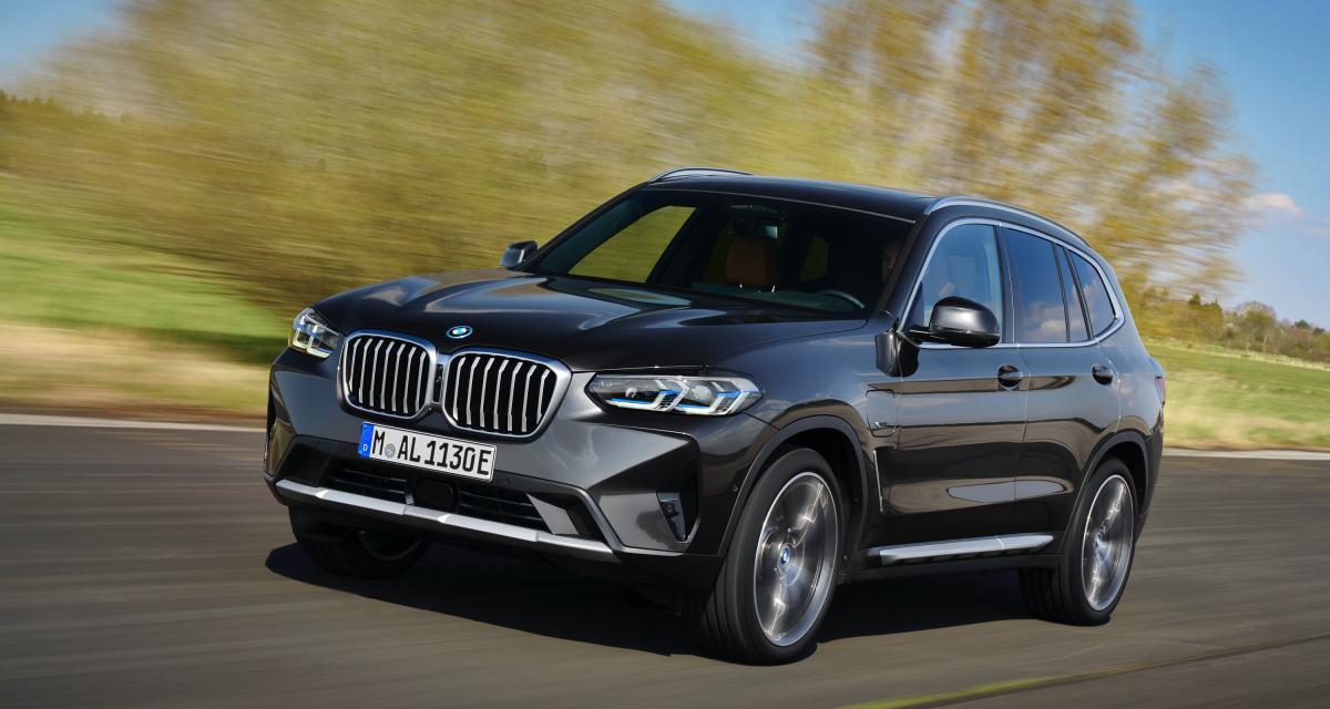 BMW X3 (2021) : restylage de mi-carrière pour le SUV bavarois