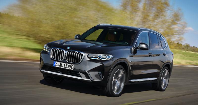 BMW X3 rediseñado (2021)