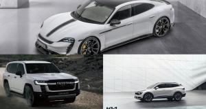 Porsche Taycan, Kia Sportage, Toyota Land Cruiser… les nouveautés auto de la semaine - 2nde partie