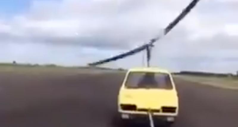 VIDEO - La voiture hélicoptère ? Pas encore au point visiblement…
