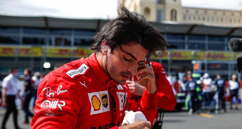 F1 - Carlos Sainz aussi a de bons réflexes, la preuve en image