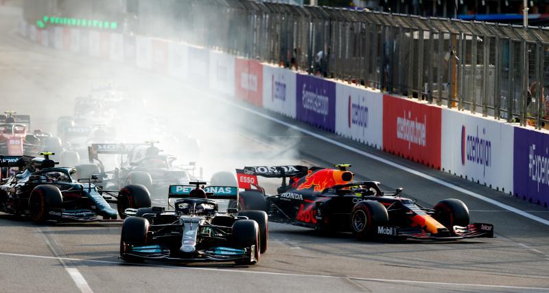 Mercedes argumente sur le bouton touché par Hamilton au Grand Prix d'Azerbaïdjan