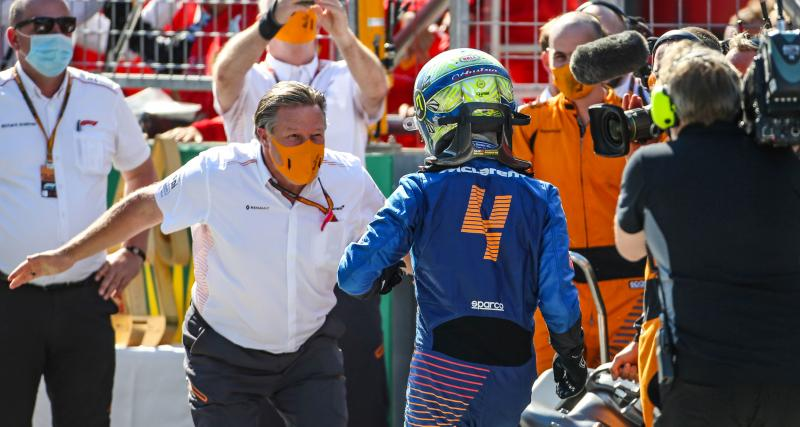 """McLaren participe au championnat d'Extreme E : """"Nous allons engager de pilotes célèbres de la F1"""""""