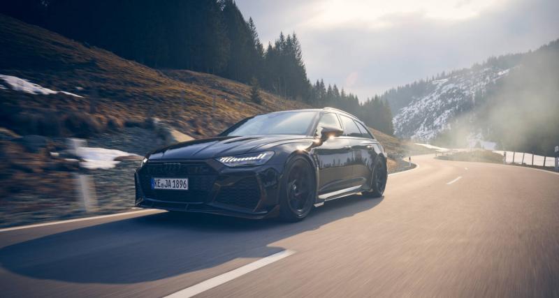 """ABT RS6 """"Johann Abt Signature Edition"""" : le break ultime de 800 ch"""