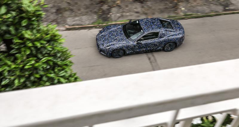 Maserati GranTurismo (2022) : la remplaçante tant attendue déjà sur les routes