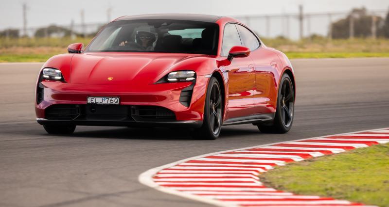 Porsche Taycan Turbo S : un nouveau record du monde en Australie