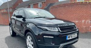 Le Range Rover Evoque offert par Sergio Agüero déjà mis en vente sur eBay !