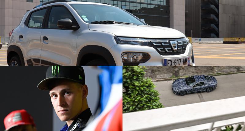 Essai Dacia Spring, Maserati Gran Turismo, Quartararo qui défie Mayweather… l'actu auto du 14 juin
