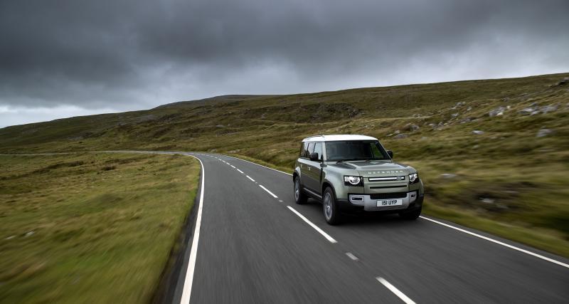 Land Rover va bientôt expérimenter un Defender fonctionnant à l'hydrogène