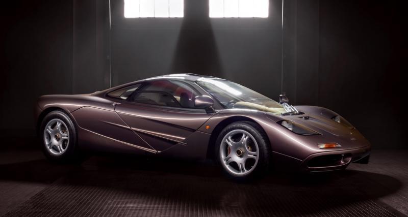 Une McLaren F1 en état de sortie d'usine, ça vous tente ?