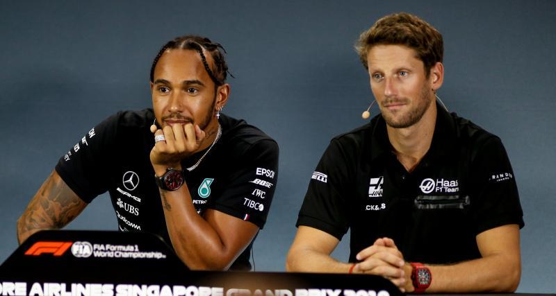 F1 - Mercedes : le test de Romain Grosjean repoussé
