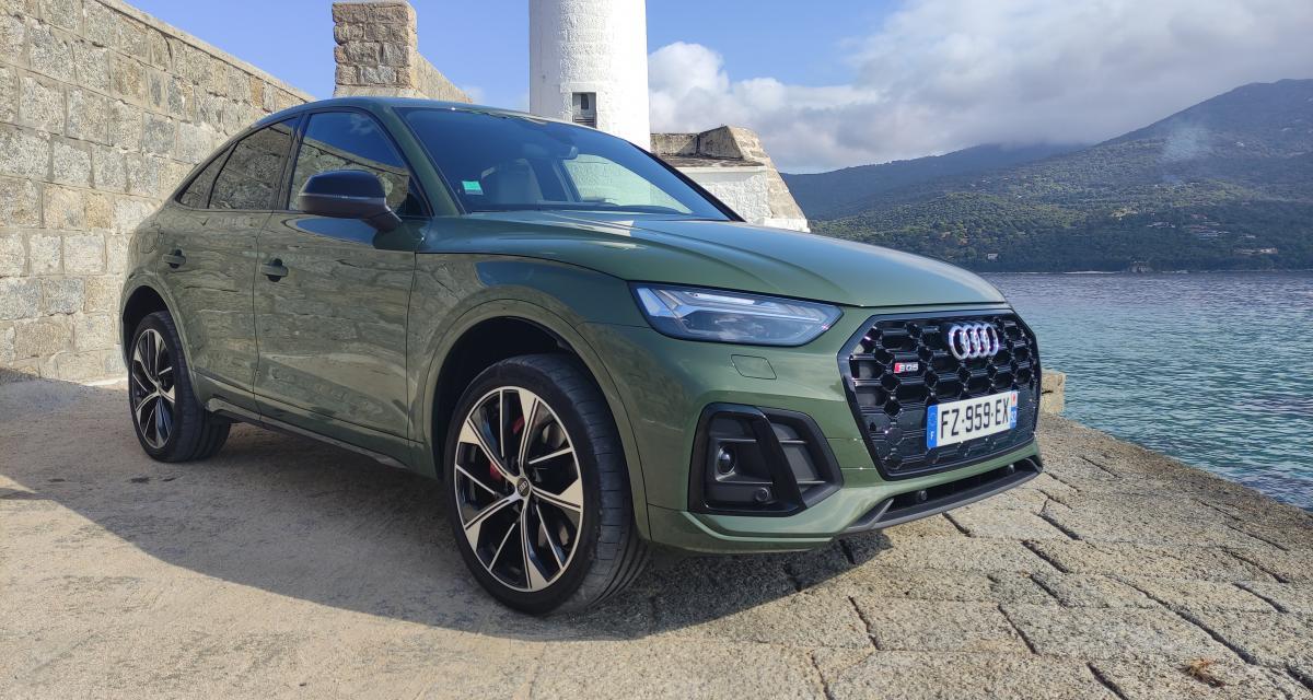 Essai Audi SQ5 Sportback : nos photos du SUV coupé