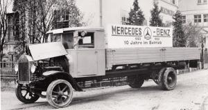 Daimler et Benz présentaient leur tout premier camion Diesel il y a près de 90 ans