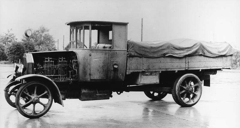 Le camion de Daimler