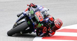 Grand Prix d'Allemagne de MotoGP : la chute de Fabio Quartararo aux essais libres 1 en vidéo