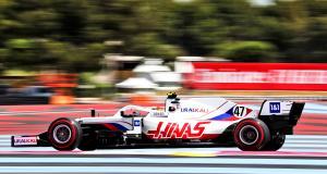 Grand Prix de France de F1 : le crash de Mick Schumacher aux essais libres 1 en vidéo
