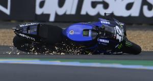 Grand Prix d'Allemagne de MotoGP : le crash de Maverick Vinales en vidéo