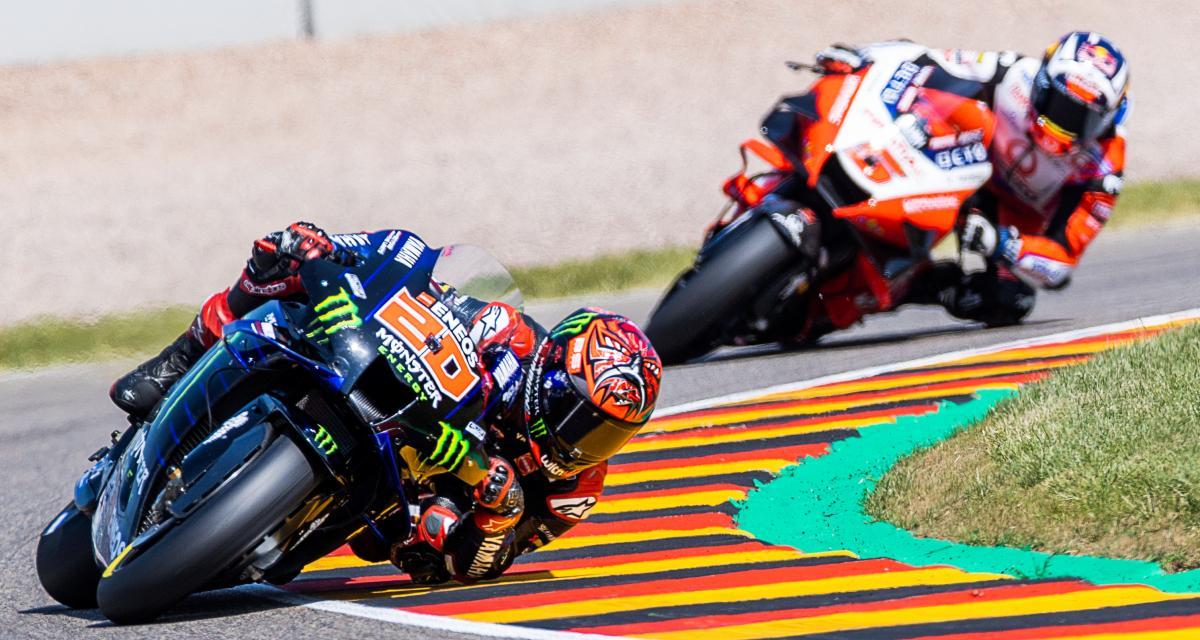 Grand Prix d'Allemagne de MotoGP : les résultats du Warm-Up