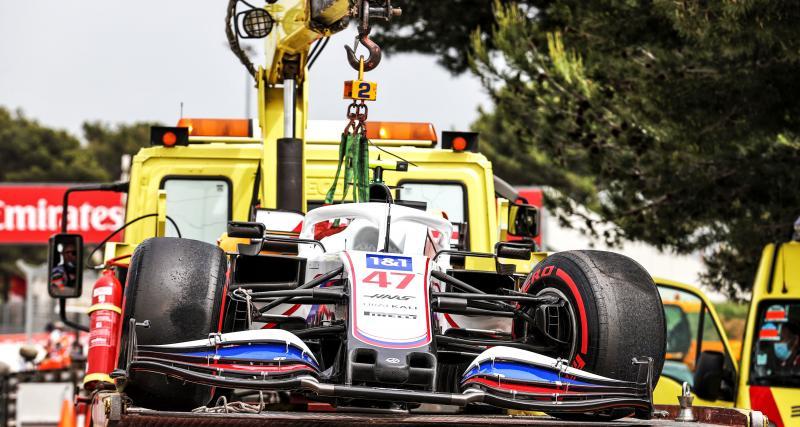 Grand Prix de France de F1 : le crash de Mick Schumacher lors des qualifications en vidéo