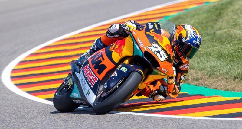 Grand Prix d'Allemagne de Moto2 : la grille de départ
