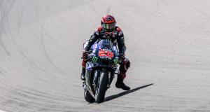 Grand Prix d'Allemagne de MotoGP : la réaction de Fabio Quartararo après les qualifications en vidéo