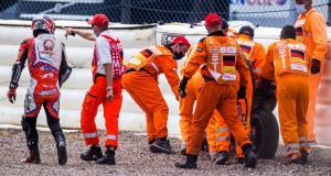 Grand Prix d'Allemagne de MotoGP : la chute de Johann Zarco en Q2 (vidéo)