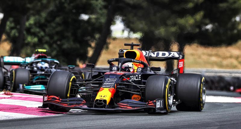 Grand Prix de France de F1: le classement final de la course