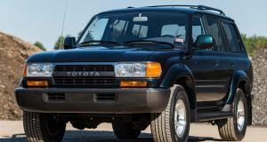 Un Toyota Land Cruiser des années 1990 vendu plus de 100.000€ aux enchères