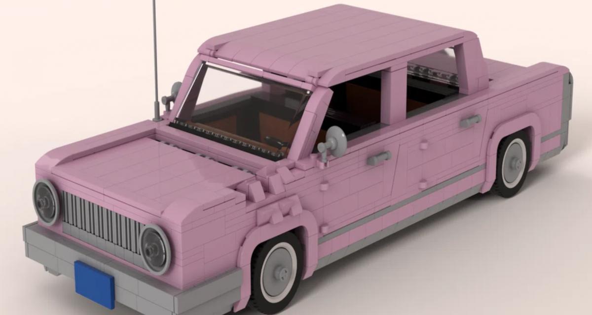 Les fans de Lego ont du talent : la preuve avec cette reproduction de la voiture d'Homer Simpson