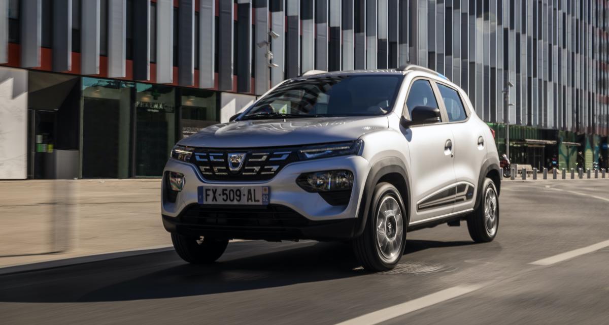 La Dacia Spring rejoint la flotte d'auto partage Zity By Mobilize