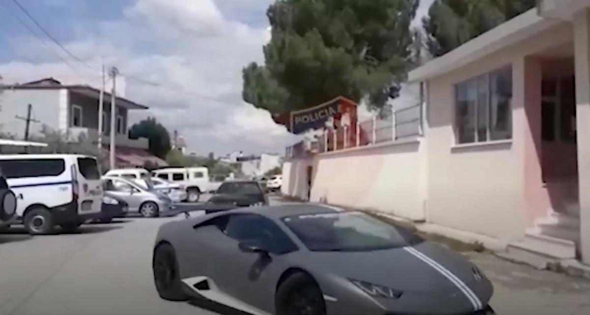 En Albanie aussi il y a des chauffards qui font n'importe quoi sur la route