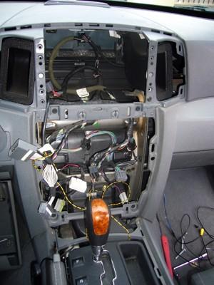 Installation changement de la source d un jeep grand - Comment demonter console centrale golf 4 ...