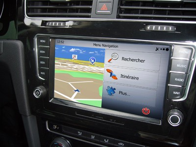 carte gps golf 7