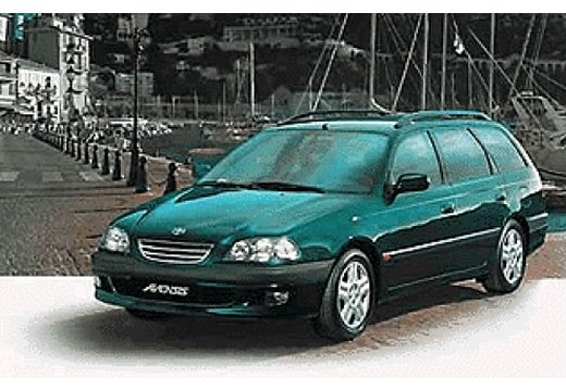fiche technique toyota avensis break 2 0 td linea sol 5 portes d 39 occasion fiche technique avec. Black Bedroom Furniture Sets. Home Design Ideas