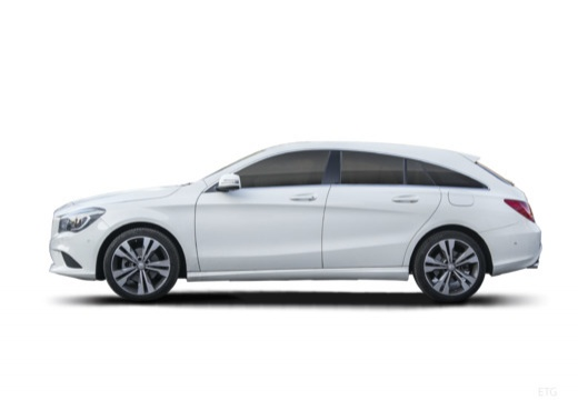 MERCEDES CLASSE CLA SHOOTING BRAKE Classe CLA Shooting Brake 200 CDI Fascination 7-G DCT A 5 portes