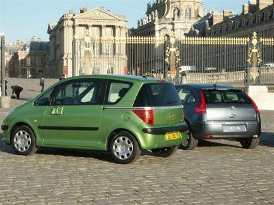 Citroën C4 vs Peugeot 1007 vs Renault Modus