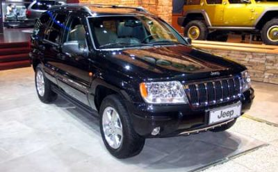Jeep Grand Cherokee Black Pearl