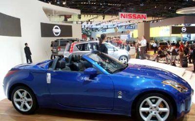 Nissan 350 Z cabriolet
